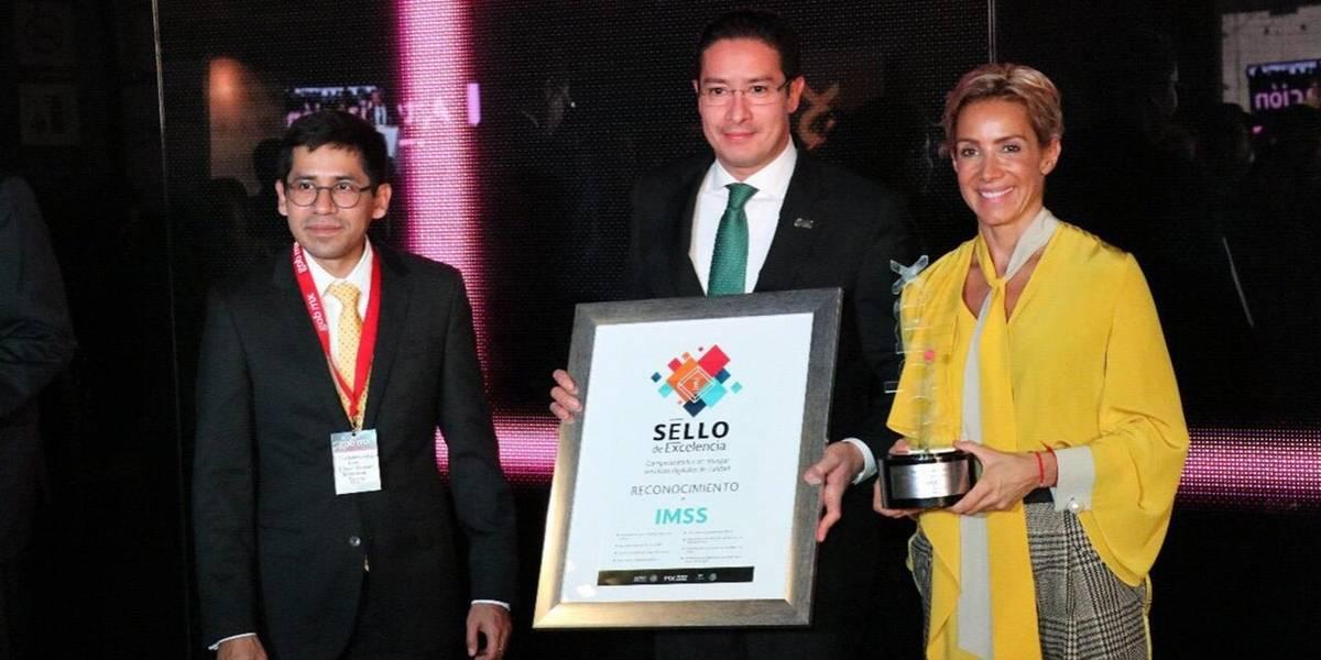 IMSS obtiene ocho premios por excelencia en servicios digitales