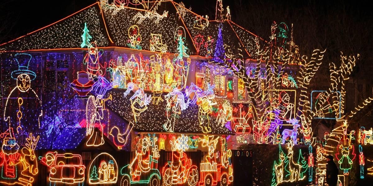 La increíble decoración navideña que impacta a todos en el mundo