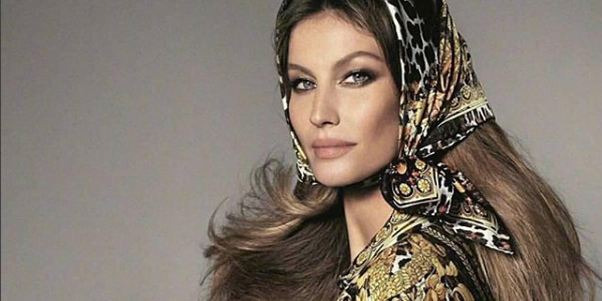 Gisele Bündchen e outras modelos participam de campanha da Versace