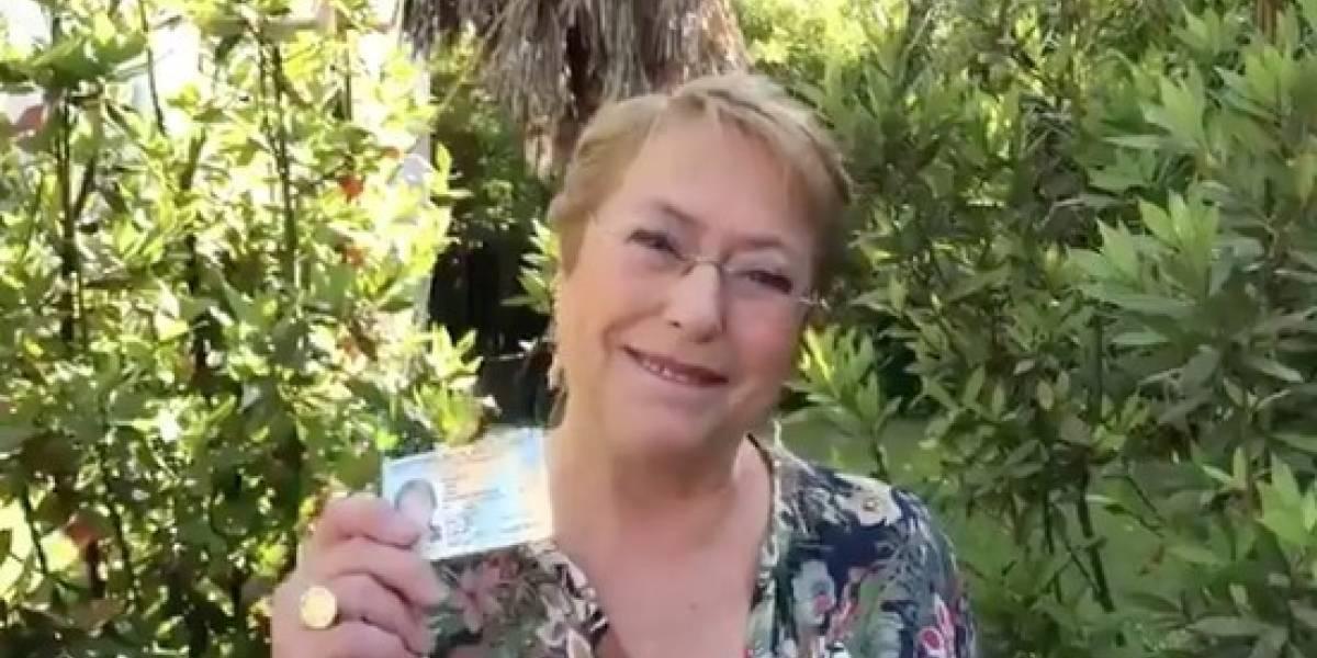"""Presidenta Bachelet hace un llamado a votar """"para que otros no decidan por ustedes"""""""