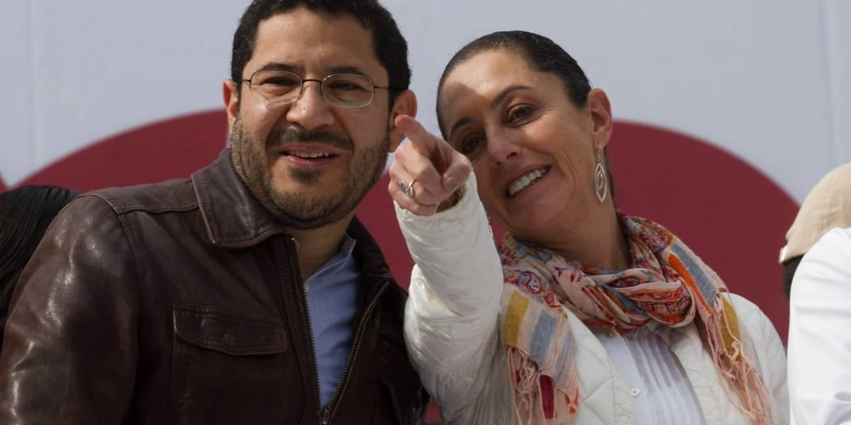 Martí Batres se registra como aspirante al Senador