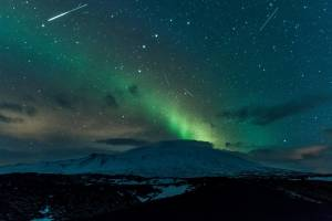 Admirar la aurora boreal