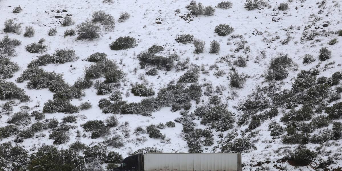 Continuarán lluvias y caída de agua nieve en gran parte del país