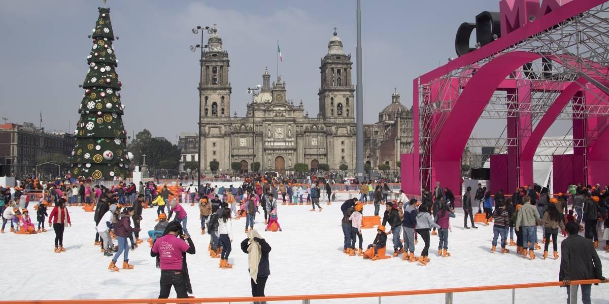 No todo es el Zócalo: aquí más pistas de hielo en la CDMX