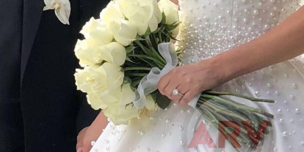 Divulgan fotos de la boda de actriz de Gata Salvaje