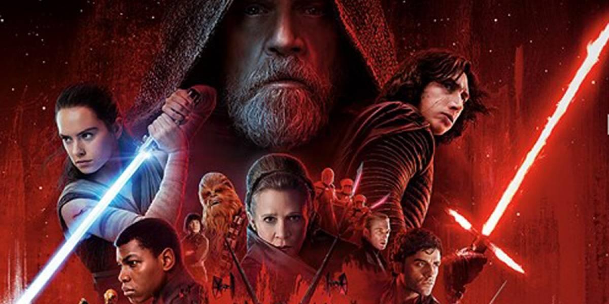 'Star Wars: The Last Jedi' es el segundo mejor estreno de la historia