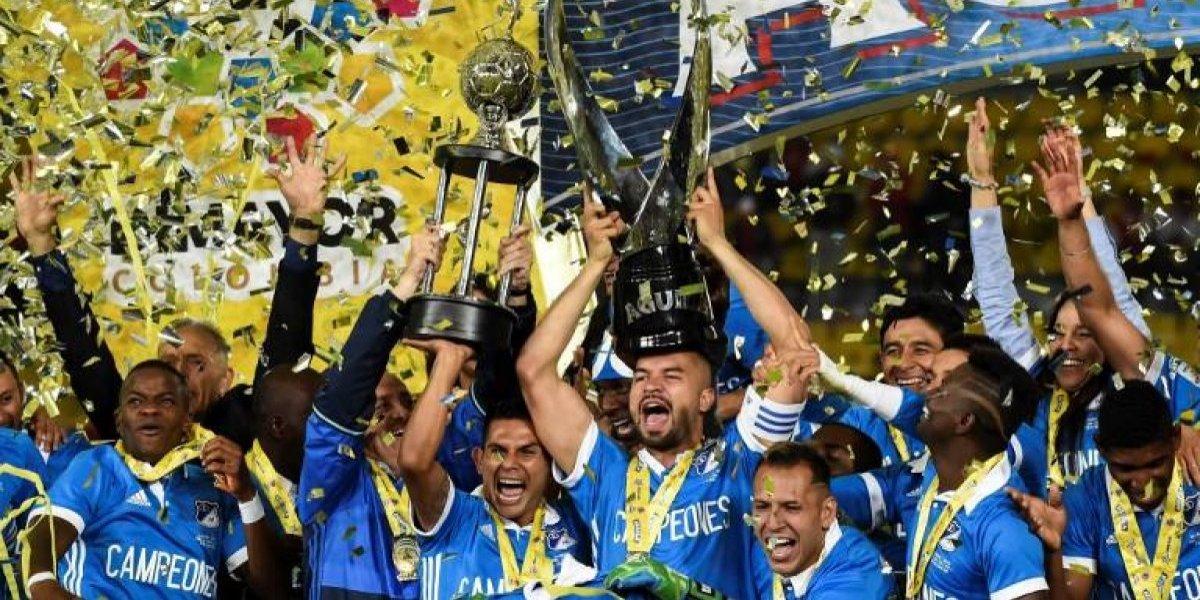 """Millonarios se corona campeón en Colombia y """"ayuda"""" a la U en Copa Libertadores"""