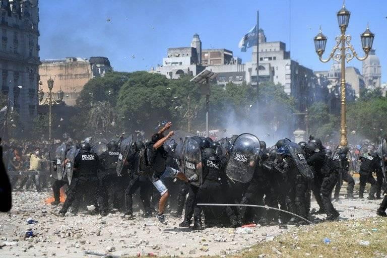 Protesta Buenos Aires