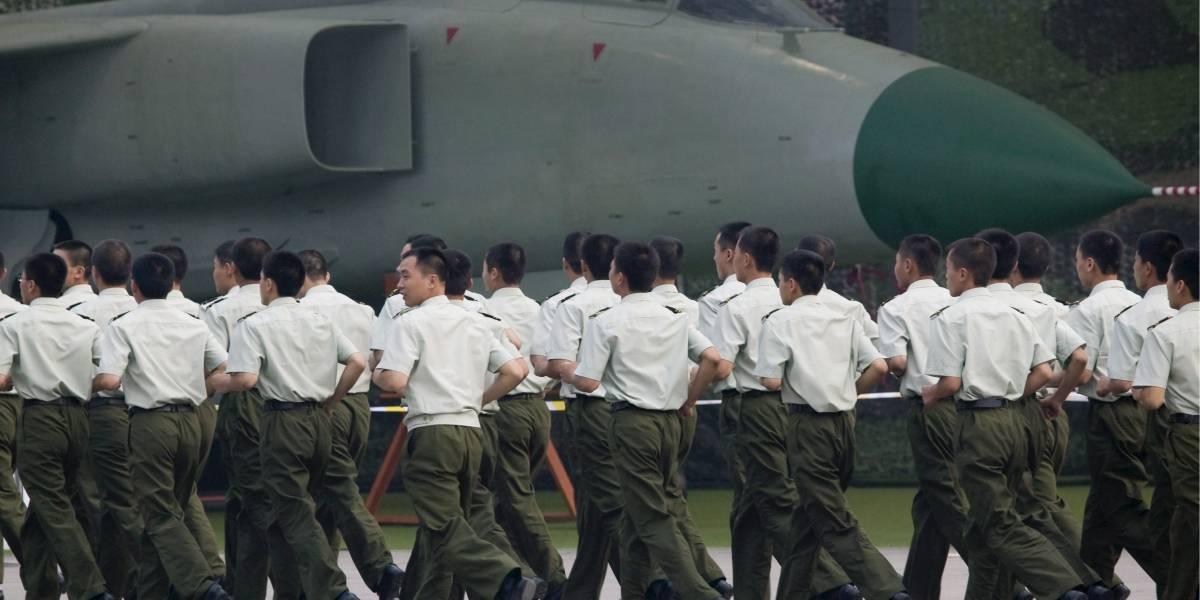 China realiza ejercicios militares en el mar de Japón