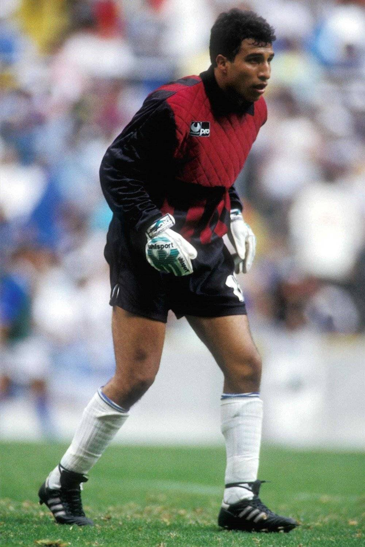 """El """"Conejo"""" en su debut. Tenía cabello. / Mexsport"""