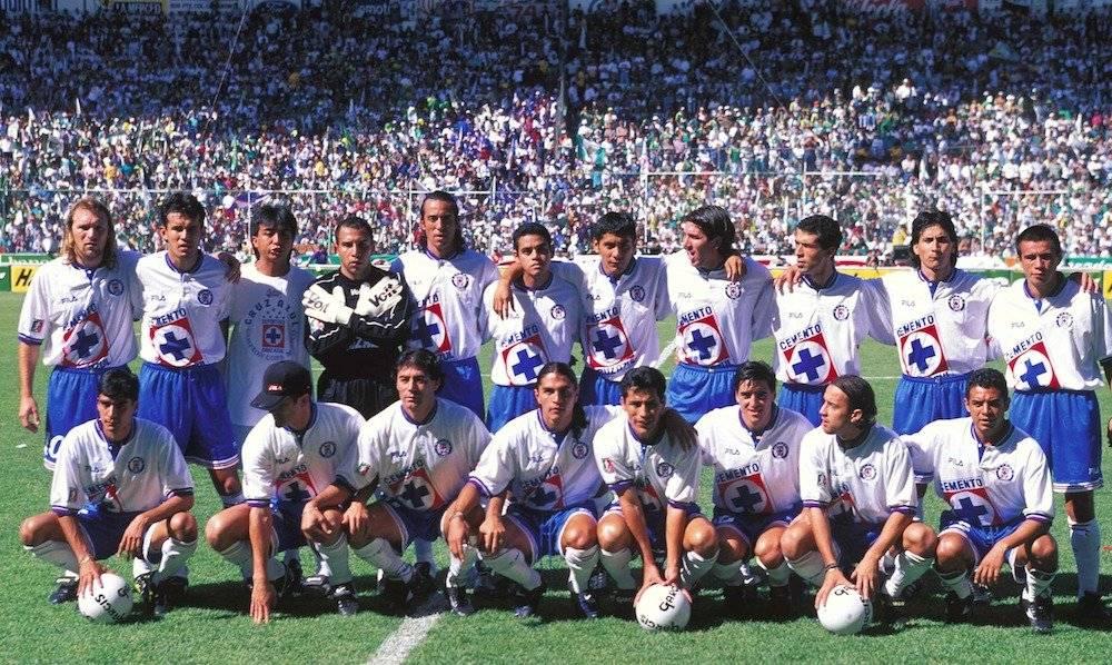 Con Cruz Azul en el Invierno 1997. / Mexsport