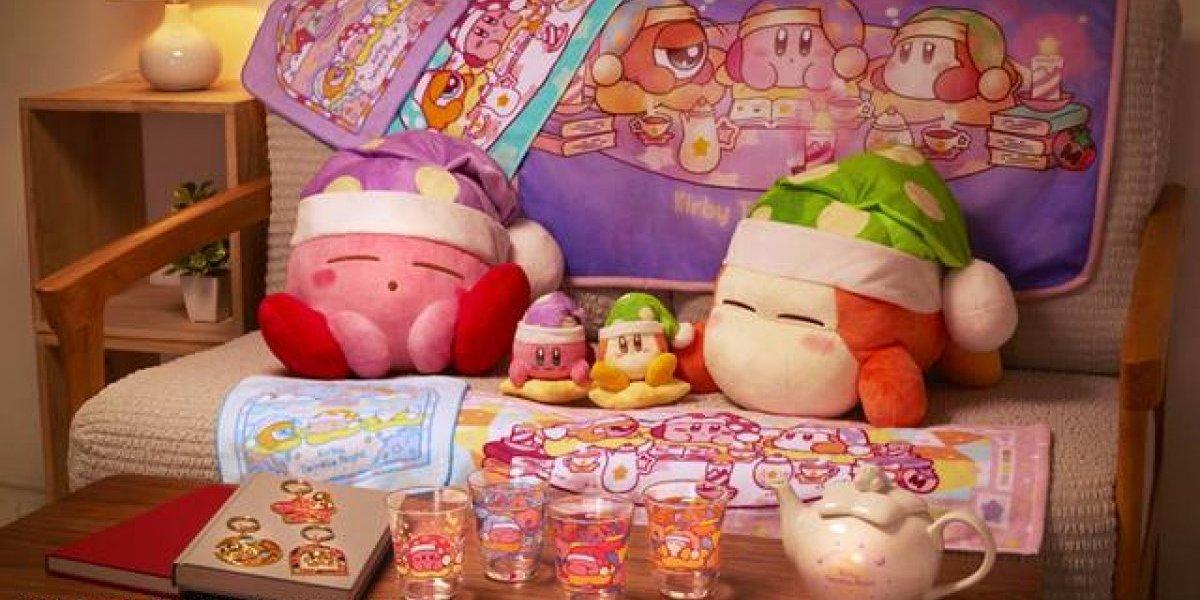 Kirby celebra 25 aniversario con hermosos accesorios