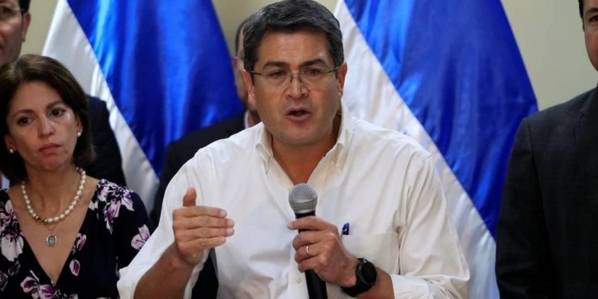 Declaran a Hernández nuevo presidente de Honduras