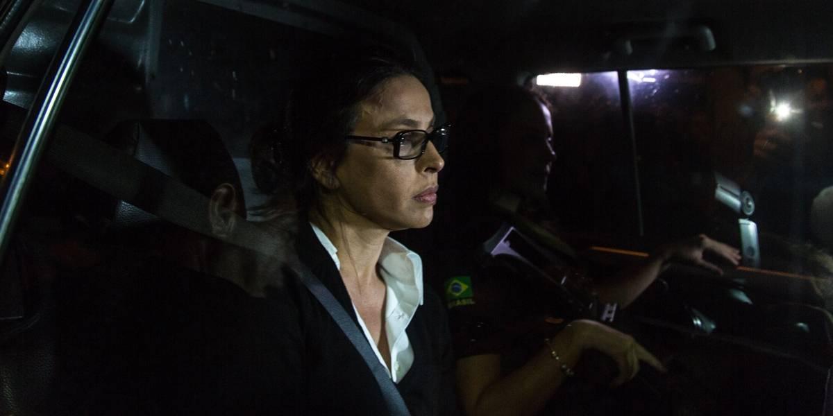 Ex-primeira-dama do Rio, Adriana Ancelmo deixa a prisão nesta terça