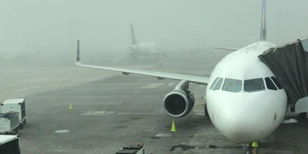Neblina afecta las operaciones del aeropuerto tapatío