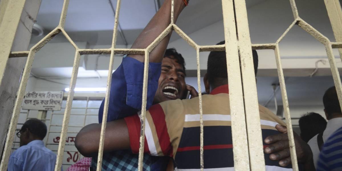 Al menos 10 muertos por estampida humana en Bangladesh