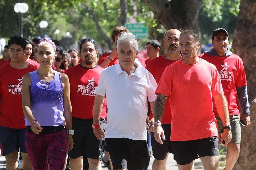 Los ex atletas Érika Olivera y Sebastián Keitel serán parlamentarios oficialistas en el segundo gobierno de Sebastián Piñera / Foto: Agencia UNO