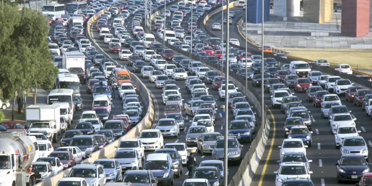 ¿En cuáles ciudades de México se recorre mayor distancia en media hora?