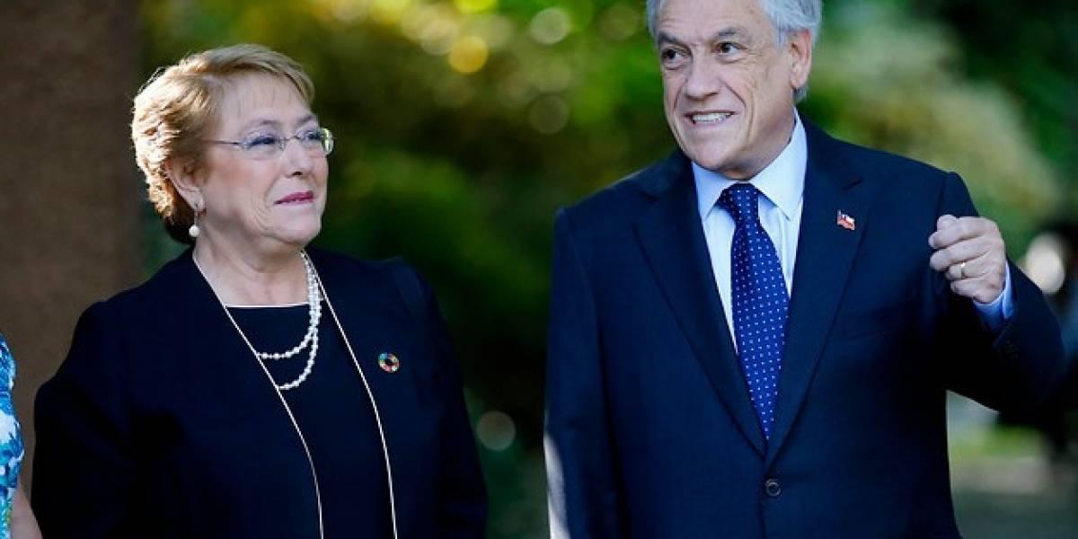 """""""¿De negro porque el país está de luto?"""": comentarios en redes por color del vestido de Bachelet en desayuno con Piñera"""