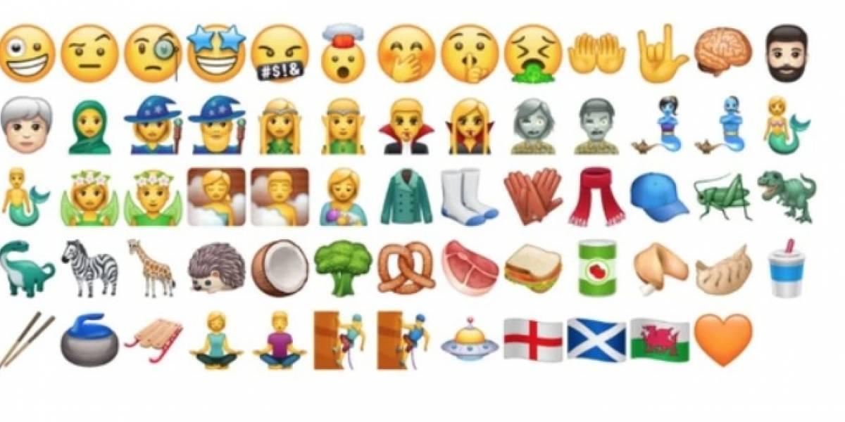 Los nuevos emojis para 2018