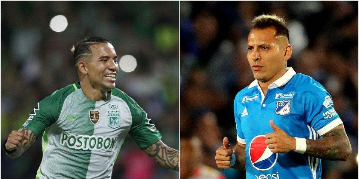 Nacional, Junior, Santa Fe y Millonarios, listos para el sorteo de Libertadores