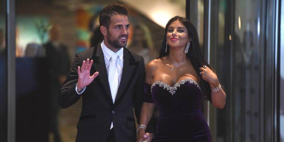 FOTO. Cesc Fàbregas se compromete con su pareja Daniella Semaan