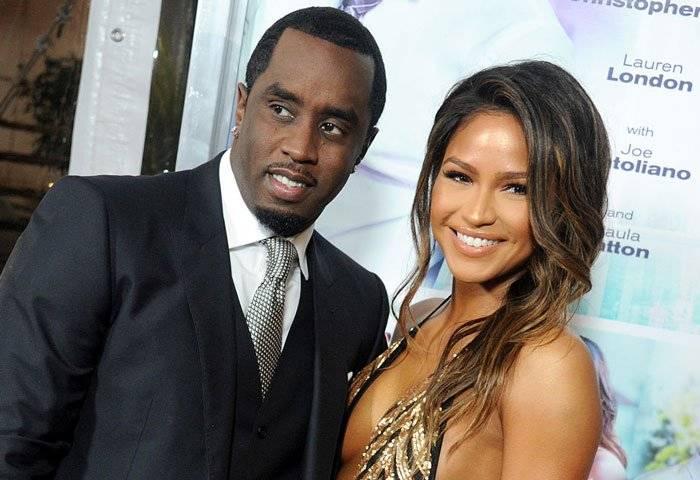 Diddy y su novia Cassie