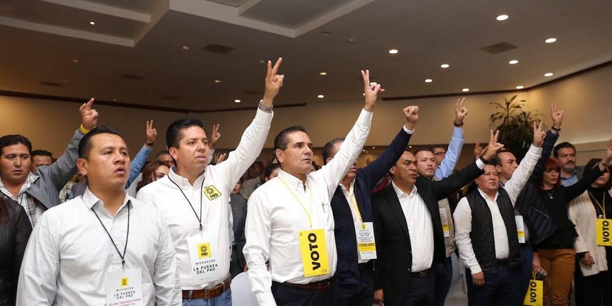 Martín García Avilés, nuevo dirigente del PRD en Michoacán
