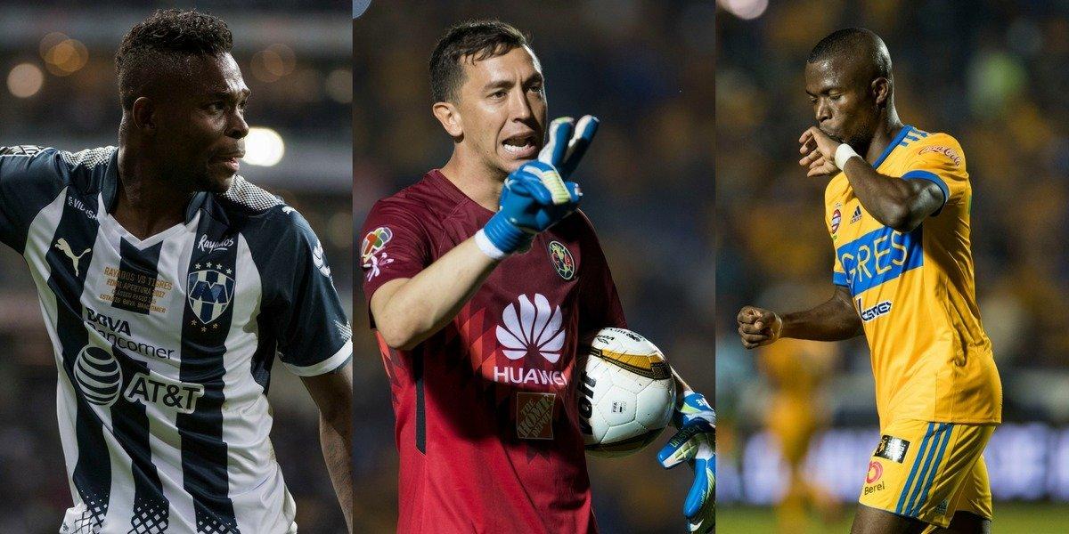 Así quedó el once ideal del Apertura 2017 de la Liga Mx