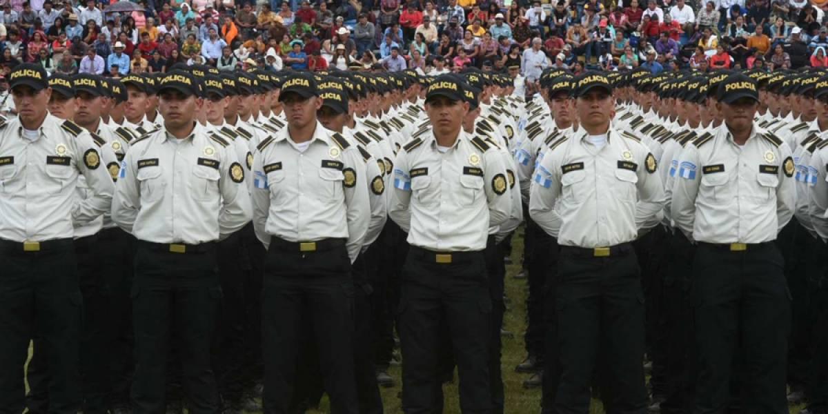 PNC busca utilizar armas incautadas al crimen