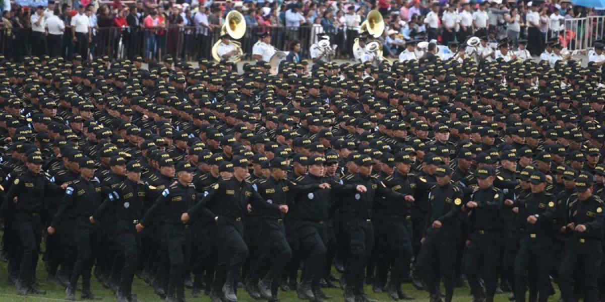EN IMÁGENES. Se gradúan 3,948 nuevos agentes de la Policía Nacional Civil
