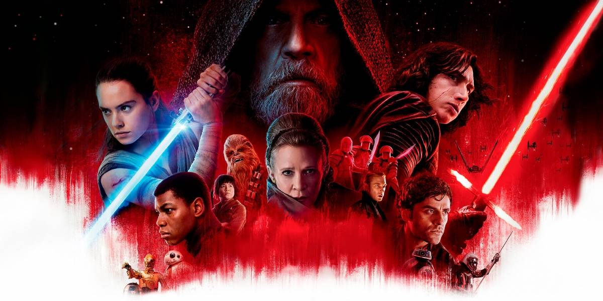 'Star Wars: Os Últimos Jedi' passa marca de US$ 1 bilhão no feriado de ano-novo
