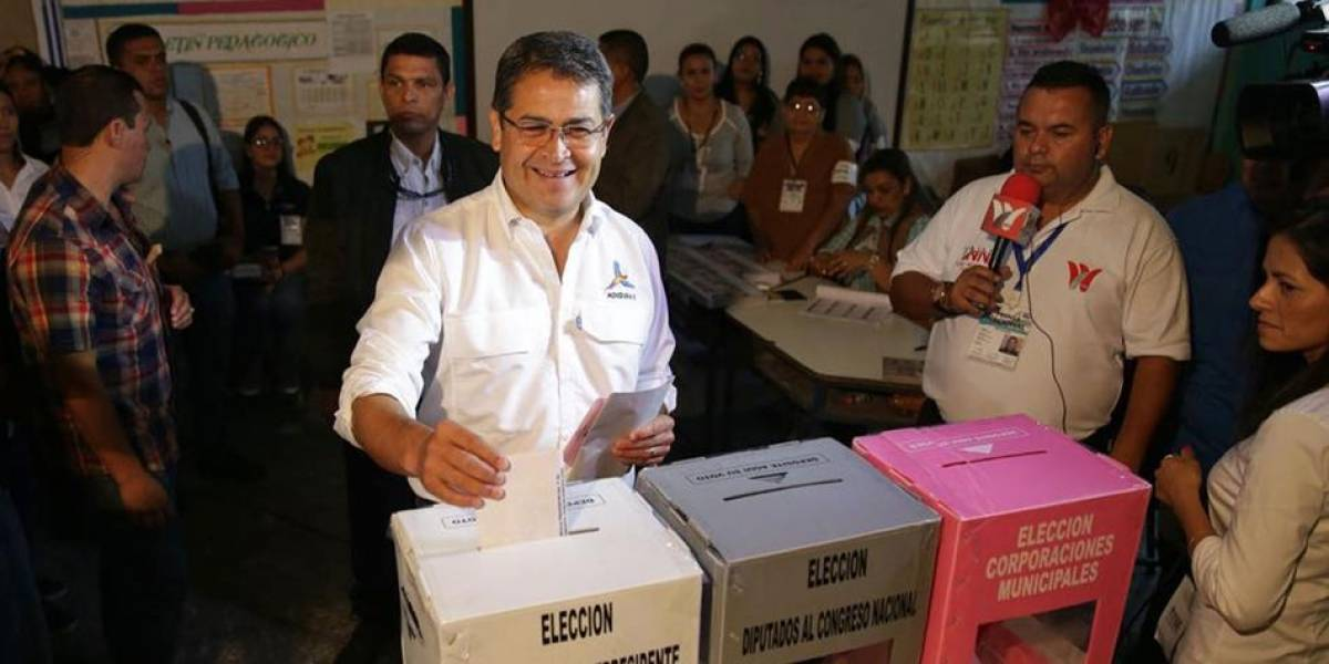 Juan Orlando Hernández es declarado como presidente de Honduras