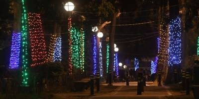 Iluminación Obelisco y zona 10