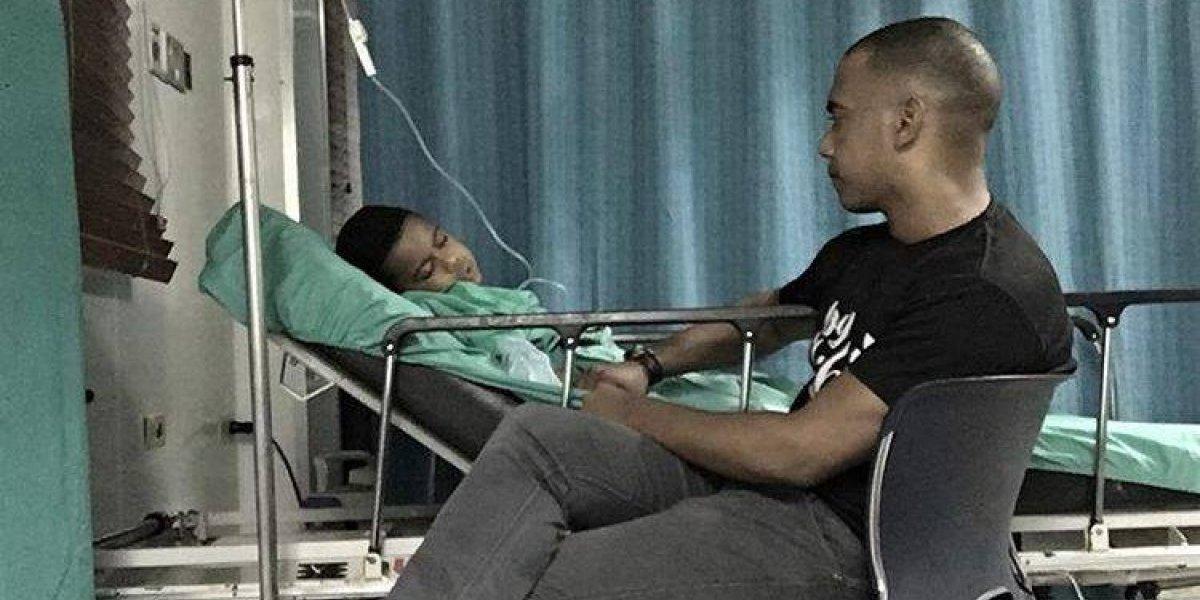 Hijo de Liondy Ozoria sale bien de operación