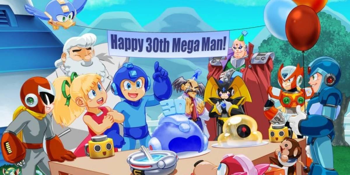 Mega Man festeja 30 aniversario