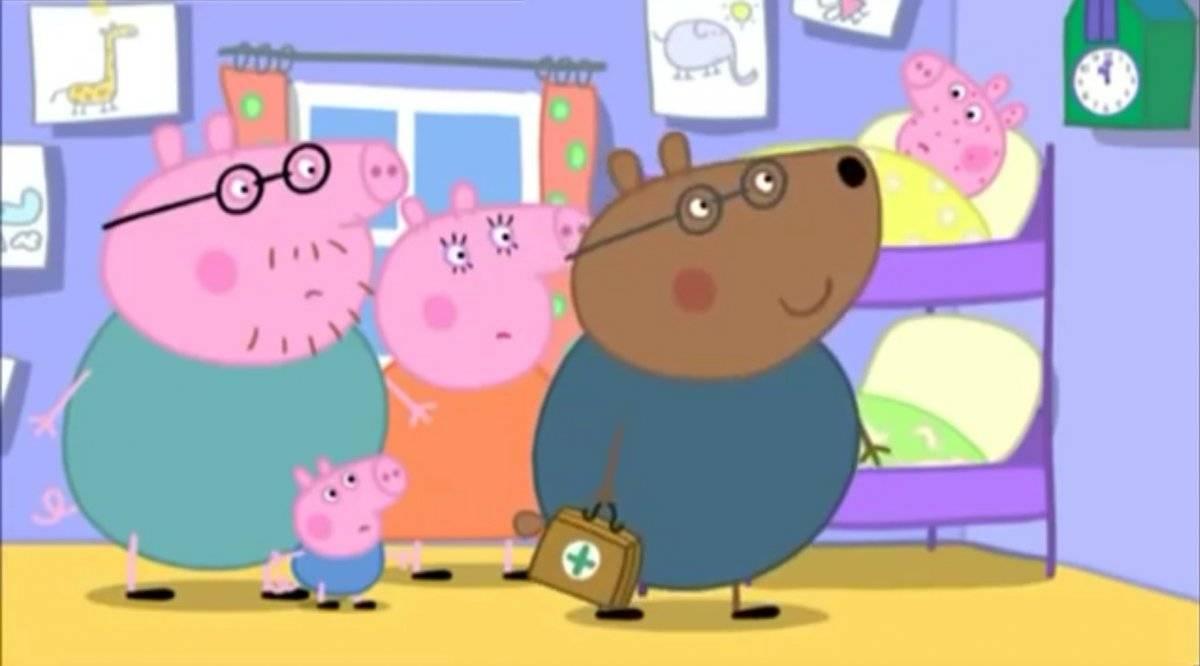 Peppa Pig enferma