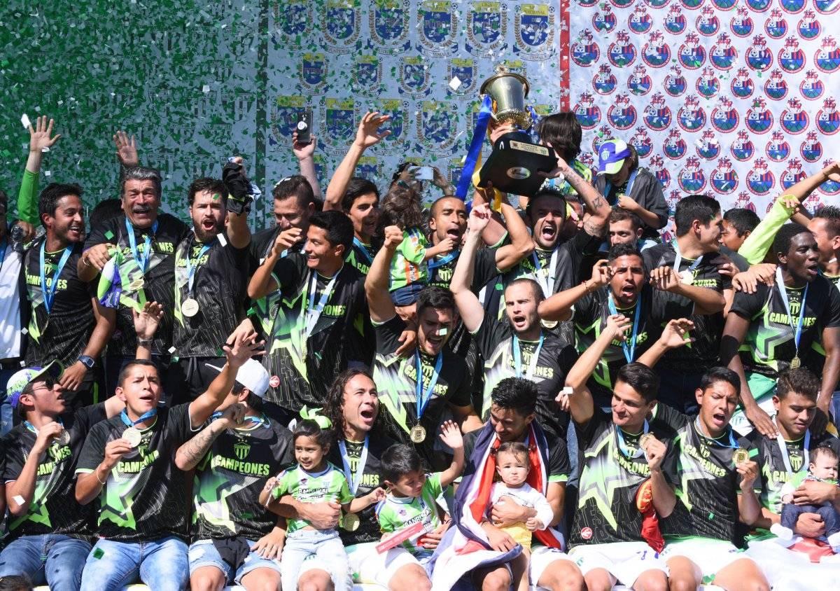 Antigua GFC suma tres título en su historia.
