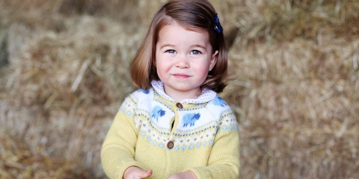 Princesa Charlotte, filha de William e Kate, frequentará creche em 2018