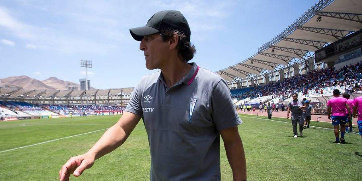 """Mario Salas sacó la voz: """"Ojalá que lo nuestro sea superado por San José en Católica"""""""