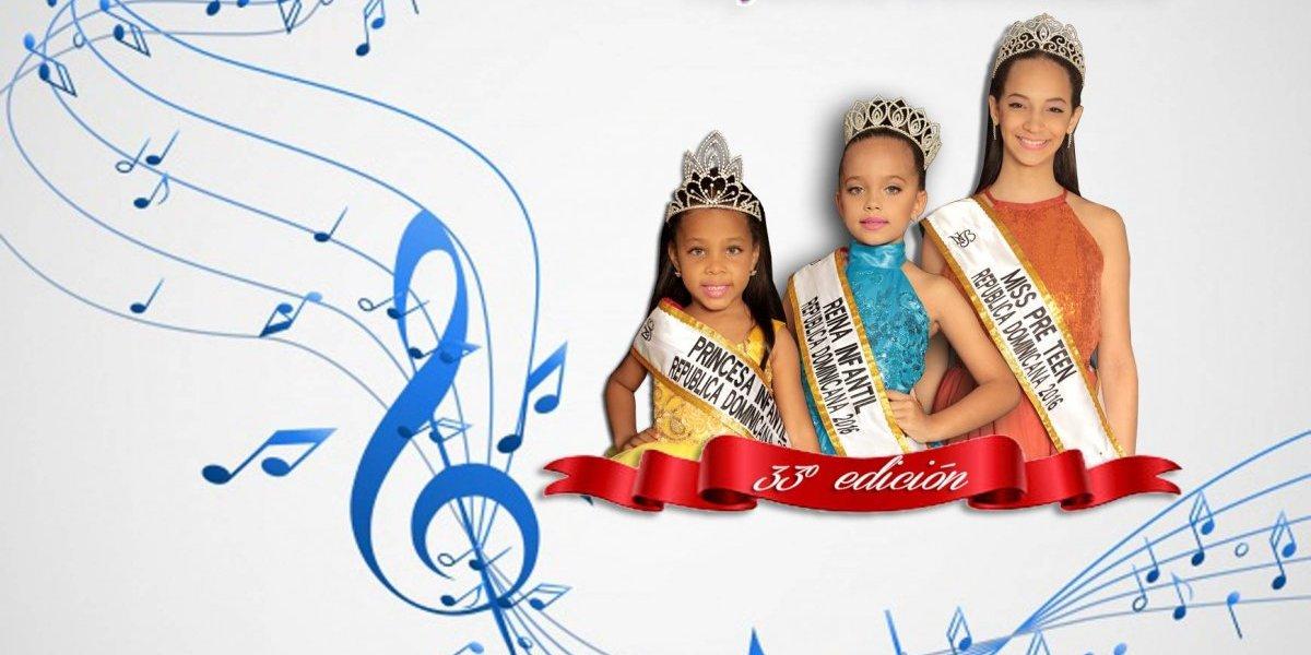 """Hoy se celebra el certamen """"Reina infantil RD"""""""