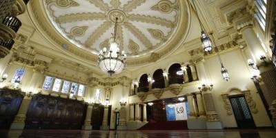 Restauración Salón de las Banderas