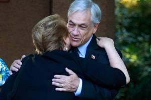 Bachelet saludó a Piñera