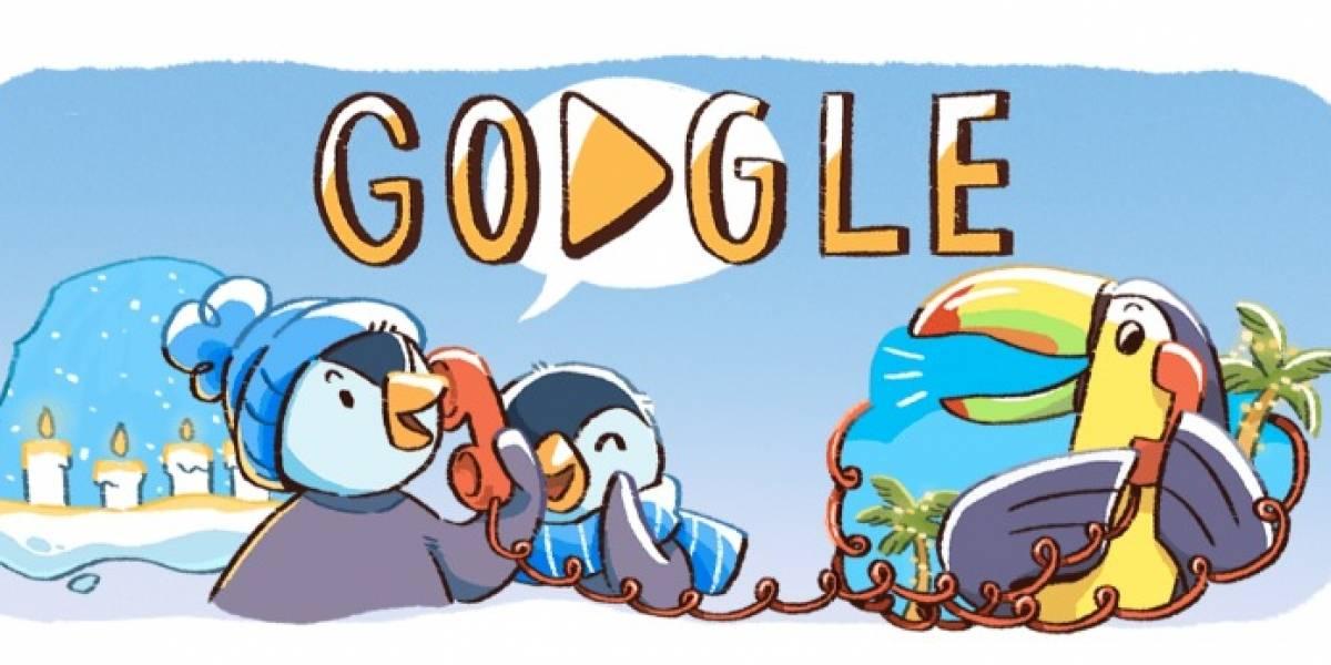 Google festeja inicio de temporada navideña con un Doodle muy especial