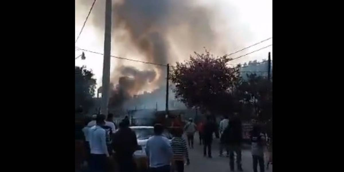 Se registra nueva explosión por pirotecnia en Tultepec