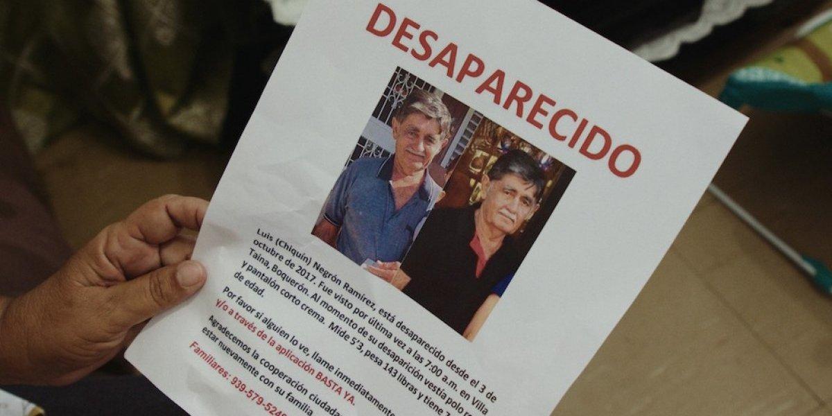 La Policía hace poco por los desaparecidos de María