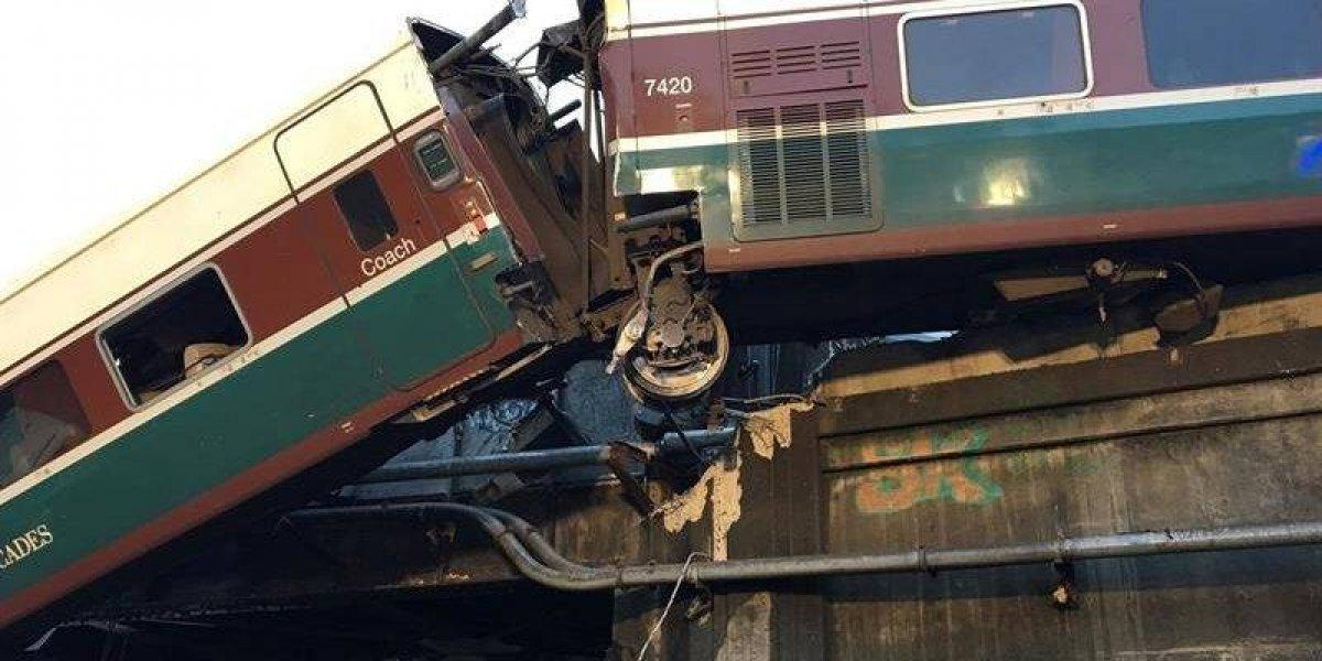 Varios fallecidos deja el descarrilamiento de un tren en EE.UU.