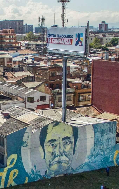 Valla Centro Democrático