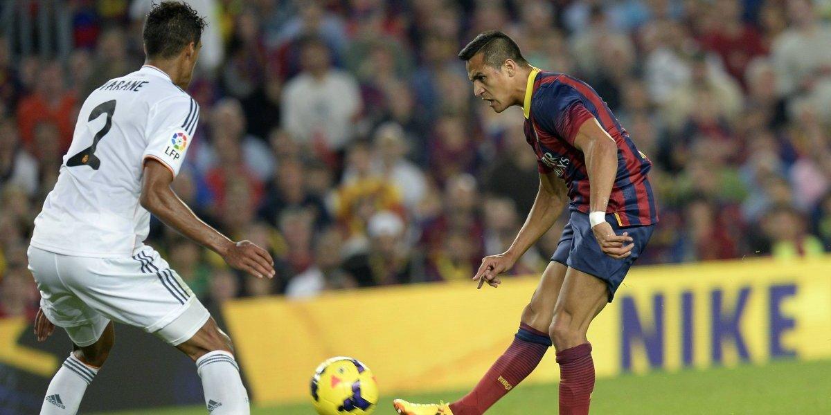 Barcelona recordó el golazo al Real Madrid para saludar a Alexis Sánchez