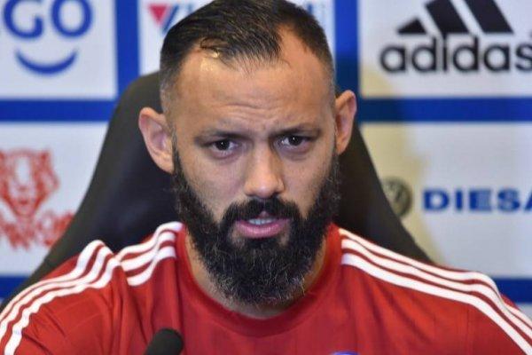 Diego Barreto quiere recuperar la habitual continuidad que ha tenido en su carrera. En 2017 sólo jugó 17 partidos por Olimpia / Foto: AFP